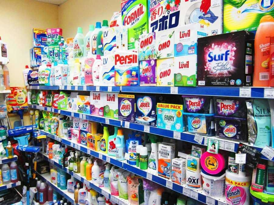 Нормы выдачи моющих средств уборщицам для уборки помещений по площадям